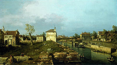 Painting - The Porta Portello, Padua by Canaletto