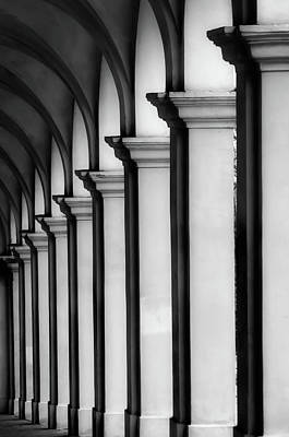 Portico Wall Art - Photograph - The Portico, Vicenza, Italy by Margaret Goodwin