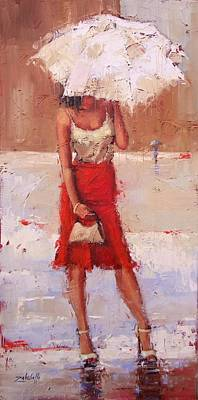 Painting - The Pose by Laura Lee Zanghetti