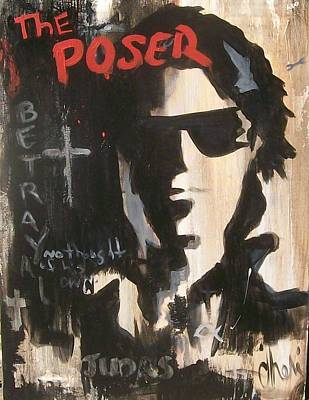 Painting - The Poser by Cheri Stripling