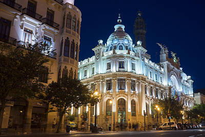 Photograph - The Post Office In Valencia by For Ninety One Days