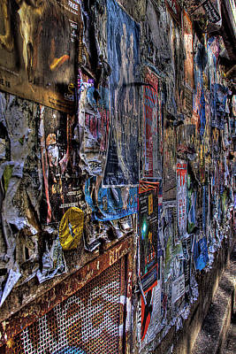 Seattle Photograph - The Poster Wall by David Patterson