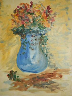 The Pot Belly Vase Art Print by Edward Wolverton