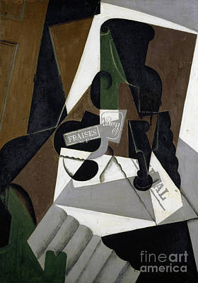 Painting - The Pot Of Strawberry Jam, 1917 by Juan Gris