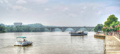 Photograph - The Potomac by Adrian LaRoque