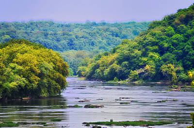 The Potomac Art Print by Bill Cannon