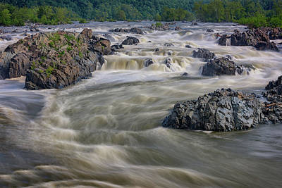 Whitewater Photograph - The Potomac by Rick Berk