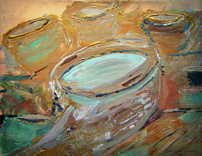 Painting - The Potter Canvas by Colleen Ranney