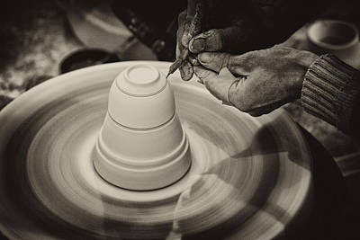 Photograph - The Potter's Wheel by Cameron Wood