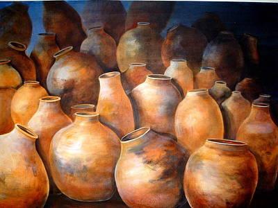 The Pottery Art Print