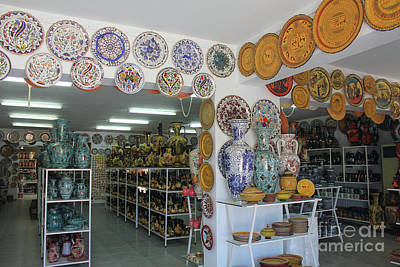 Photograph - The Pottery Store Greece by Donna L Munro