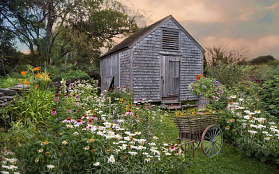 Photograph - The Potting Shed by Robin-Lee Vieira