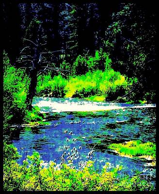 Photograph - The Powder River by Jennifer Lake