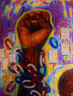 Painting - The Power by Emery Franklin