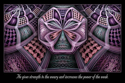 Digital Art - The Power by Missy Gainer