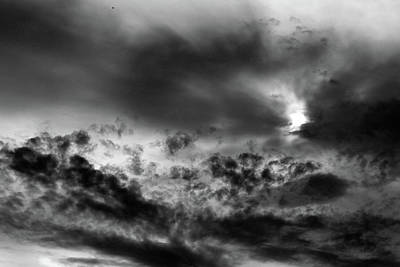 Photograph - The Power Of Heaven Bw by Mary Bedy