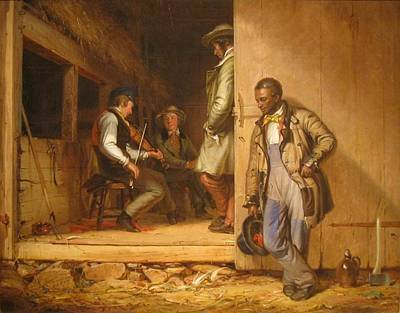The Power Of Music, 1847 Art Print by William Sidney Mount