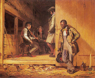 Moonshine Painting - The Power Of Music by William Sidney Mount