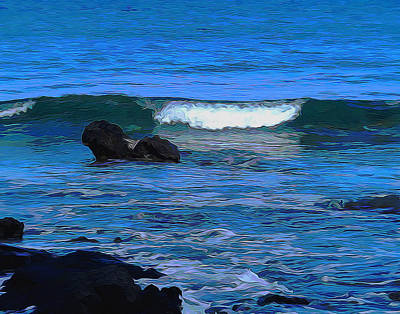 Photograph - The Power Of The Ocean by Pamela Walton