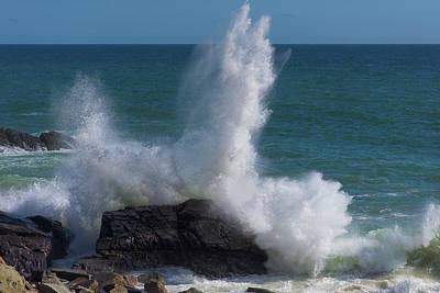 Photograph - The Power Of The Sea by John Hembree