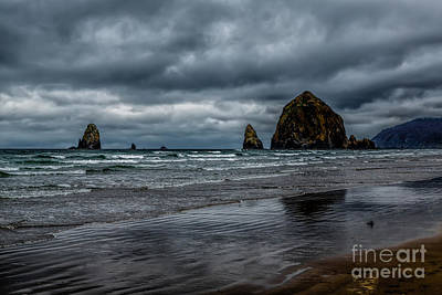 The Power Of The Sea Art Print by Jon Burch Photography