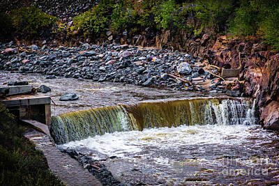 The Power Of Water Art Print by Jon Burch Photography
