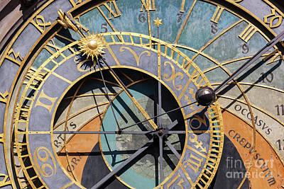 State Love Nancy Ingersoll - The Prague astronomical clock, or Prague orloj in Prague, Czech Republic by Michal Bednarek