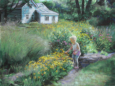 Pastel - The Prairie Garden by Emily Olson