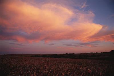 The Prairie Meets The Sky Art Print by Joel Sartore
