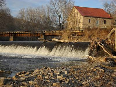 Photograph - The Prallsville Mill After Sandy by Val Arie