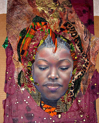 Mixed Media - The Prayer 1 by Gary Williams