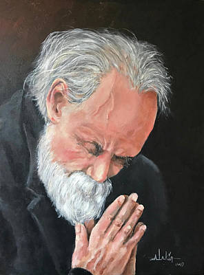 Painting - The Prayer by Alan Lakin