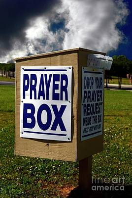 Photograph - The Prayer Box by Bob Pardue