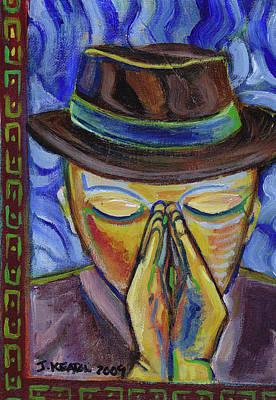 Painting - The Prayer Of Josef Beuys by John Keaton