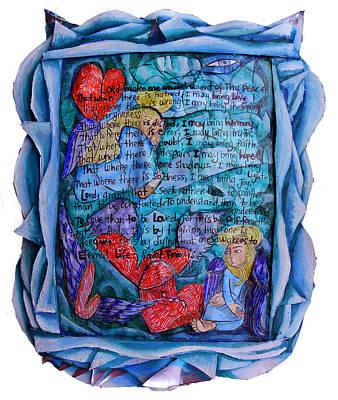 The Prayer Of St. Francis Art Print