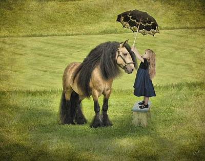 Gypsy Digital Art - The Precious Companion by Fran J Scott