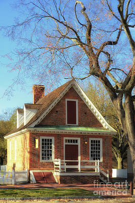 Photograph - The Prentis Store, Colonial Williamsburg by Lois Bryan