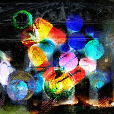 Duality Digital Art - The Present by JP Rhea