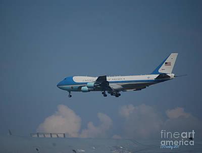 The President's Aircraft Art Print