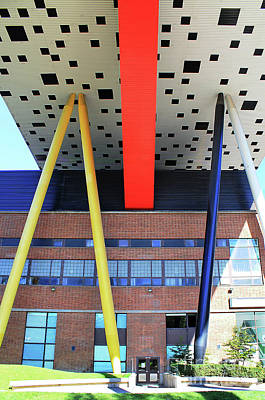 Photograph - The Primary Colours Of Ocad by Nina Silver