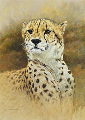 Painting - The Prince - Cheetah by Alan M Hunt