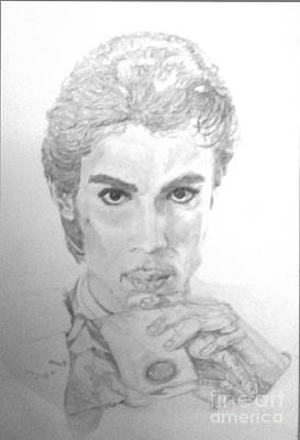 Film Maker Drawing - The Prince by Nancy Rucker