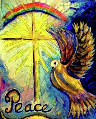 Painting - The Prince Of Peace by Hazel Holland
