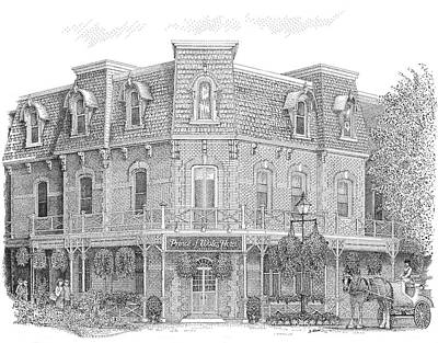 The Prince Of Wales Hotel Print by Steve Knapp