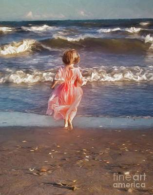 Photograph - The Princess And The Sea by Laurinda Bowling