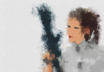 Painting - The Princess by Miranda Sether