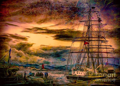 Photograph - The Princess William At Sunset by Sue Melvin