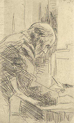 Relief - The Printmaker by Edouard Vuillard