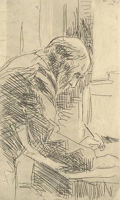Relief - The Printmaker by Edouard Vuillard