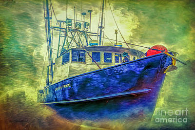 Photograph - The Privateer by Jean OKeeffe Macro Abundance Art